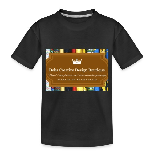 Debs Creative Design Boutique with site - Toddler Premium Organic T-Shirt