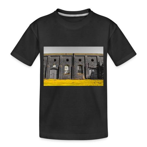 Bricks: who worked here - Toddler Premium Organic T-Shirt