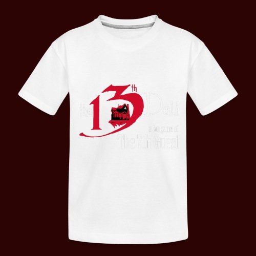 The 13th Doll Logo - Toddler Premium Organic T-Shirt
