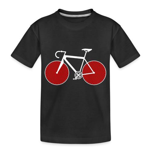 bike love - Toddler Premium Organic T-Shirt