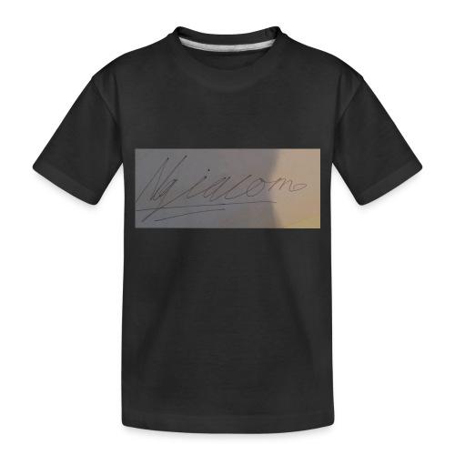 signature - Toddler Premium Organic T-Shirt