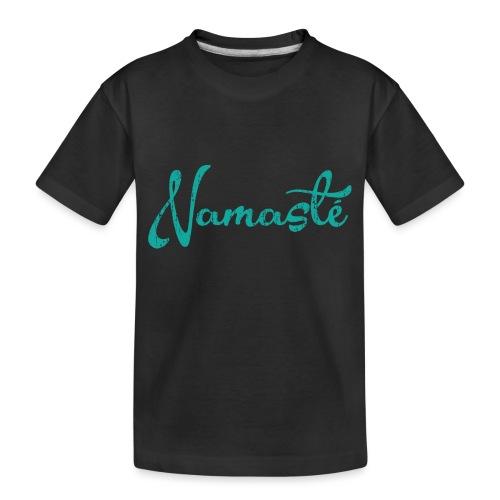 Namaste Script - Toddler Premium Organic T-Shirt