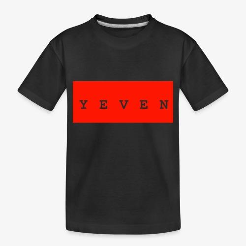 Yevenb - Toddler Premium Organic T-Shirt