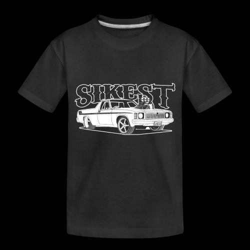 SIKEST - HJ UTE BLOWN BIG BLOCK DESIGN - Toddler Premium Organic T-Shirt