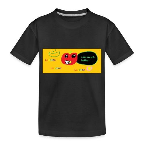 pechy vs apple - Toddler Premium Organic T-Shirt