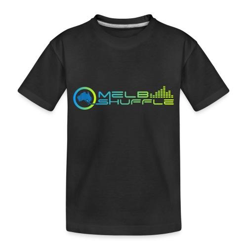 Melbshuffle Gradient Logo - Toddler Premium Organic T-Shirt