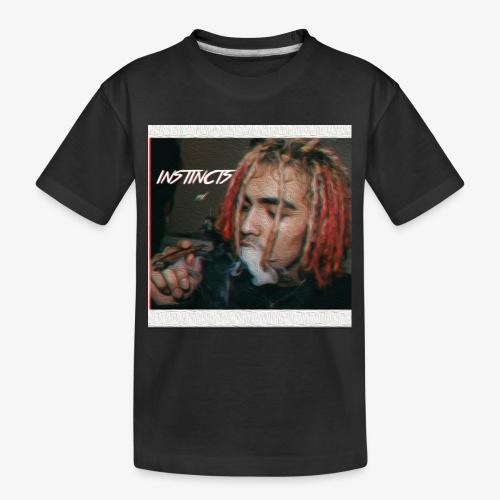 Instincts signature Shirt. Limited Edition - Toddler Premium Organic T-Shirt