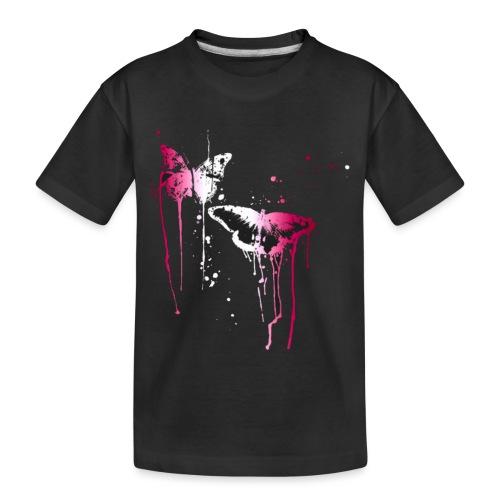 Dripping Butterflies - Toddler Premium Organic T-Shirt
