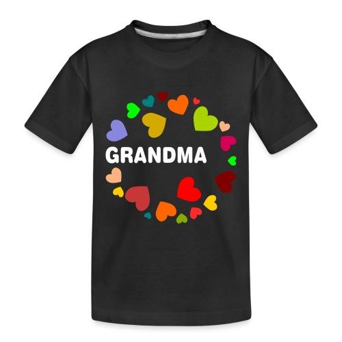 Grandma - Toddler Premium Organic T-Shirt