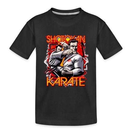 Shotokan Karate - Toddler Premium Organic T-Shirt