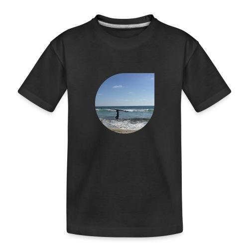 Floating sand - Toddler Premium Organic T-Shirt