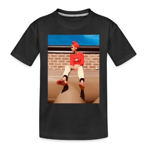 Flamin_Danger - Toddler Premium Organic T-Shirt