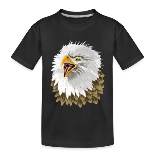 Big, Bold Eagle - Toddler Premium Organic T-Shirt