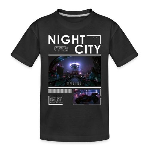 Night City Japan Town - Toddler Premium Organic T-Shirt