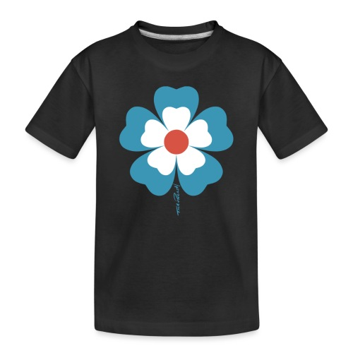 flower time - Toddler Premium Organic T-Shirt