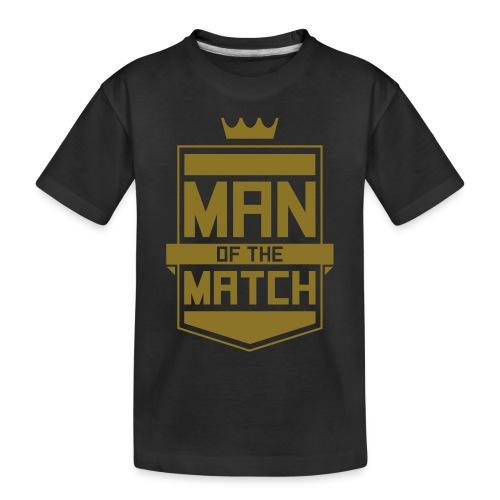 Man of the Match - Toddler Premium Organic T-Shirt