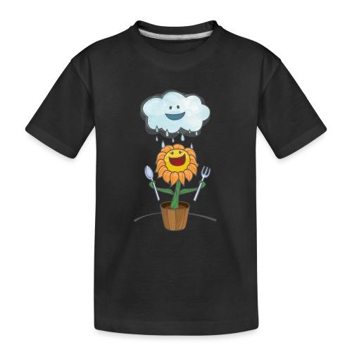 Cloud & Flower - Best friends forever - Toddler Premium Organic T-Shirt