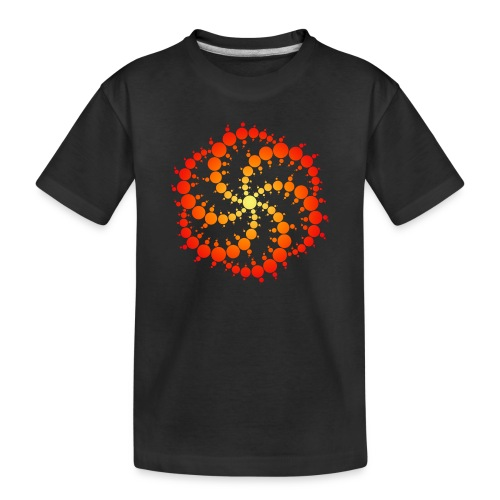 Crop circle - Toddler Premium Organic T-Shirt