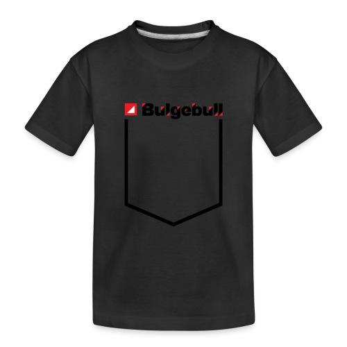 BULGEBULL POCKET - Toddler Premium Organic T-Shirt