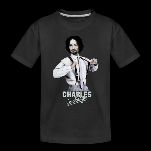 CHARLEY IN CHARGE - Toddler Premium Organic T-Shirt