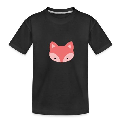 Fox Gift Logo - Toddler Premium Organic T-Shirt
