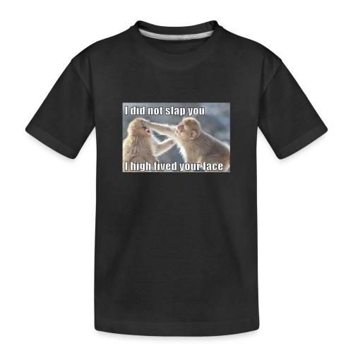funny animal memes shirt - Toddler Premium Organic T-Shirt