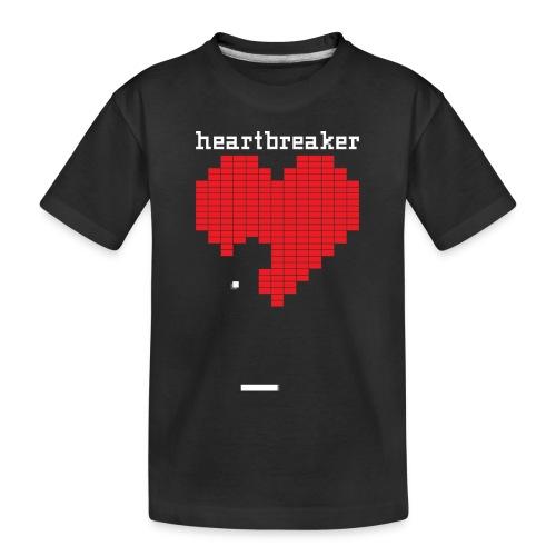 Heartbreaker Valentine's Day Game Valentine Heart - Toddler Premium Organic T-Shirt