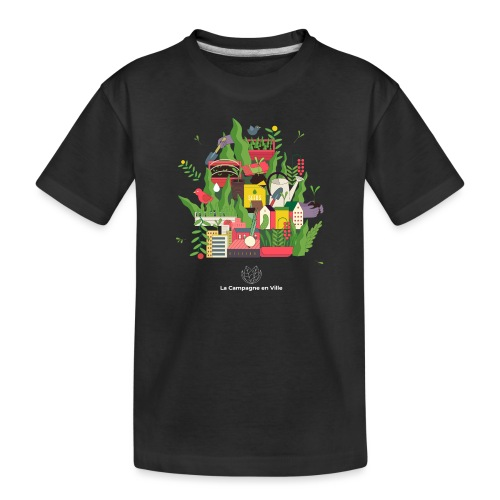 CeV Urban Farm - Toddler Premium Organic T-Shirt