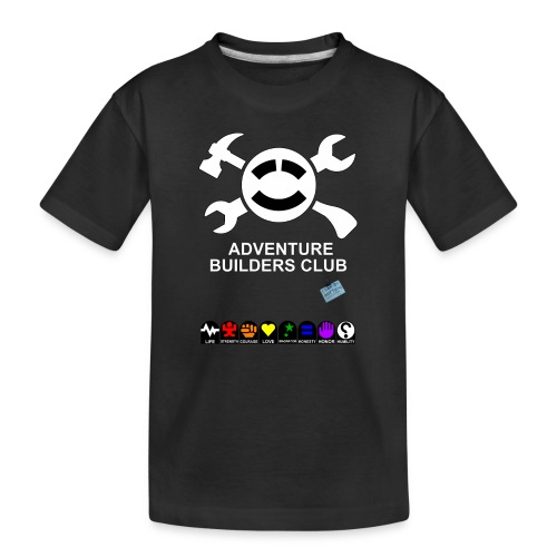 Adventure Builders Club - Toddler Premium Organic T-Shirt