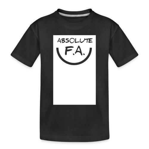 Absolute FA smiley - Toddler Premium Organic T-Shirt