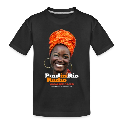 Paul in Rio Radio - Mágica garota - Toddler Premium Organic T-Shirt