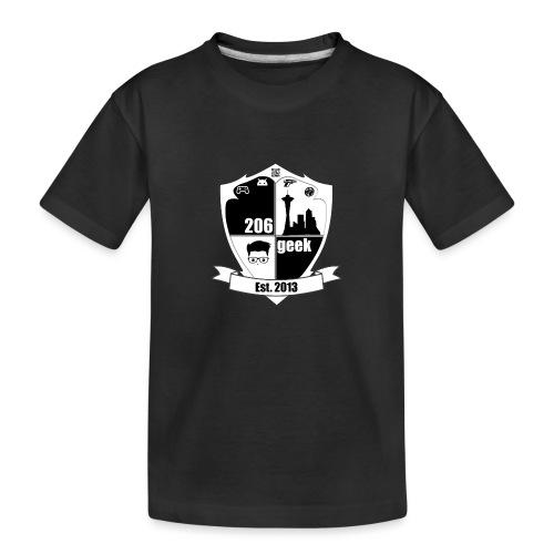 206geek podcast - Toddler Premium Organic T-Shirt