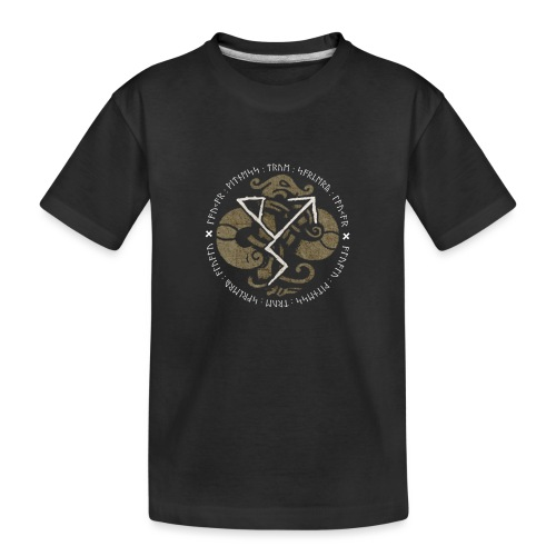 Witness True Sorcery Emblem (Alu, Alu laukaR!) - Toddler Premium Organic T-Shirt