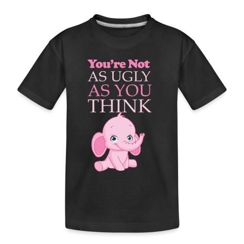 Ugly png - Toddler Premium Organic T-Shirt