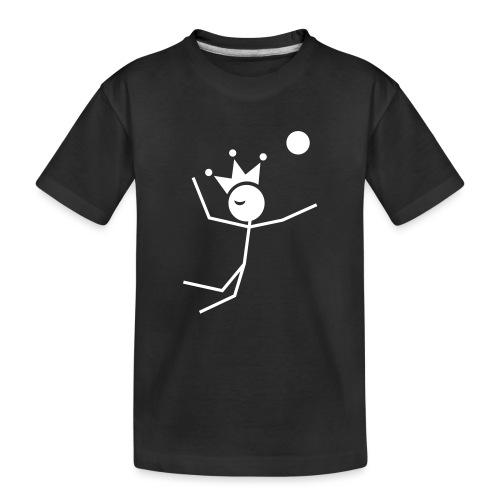 Volleyball King - Toddler Premium Organic T-Shirt