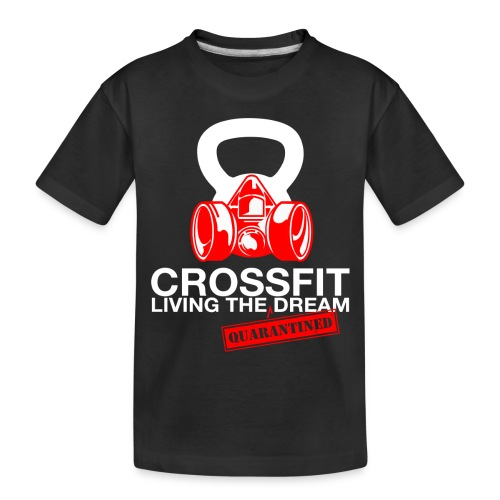 CROSSFIT LTQD - WHITE - Toddler Premium Organic T-Shirt