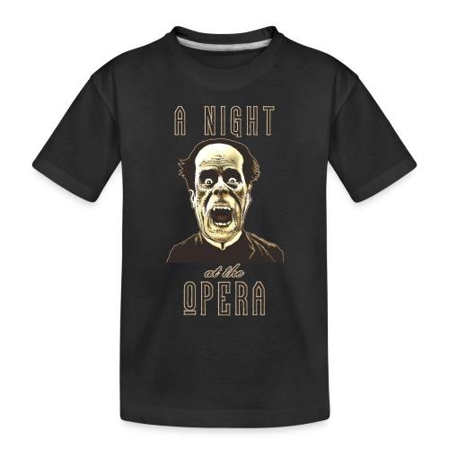 A Night at the Opera - Toddler Premium Organic T-Shirt