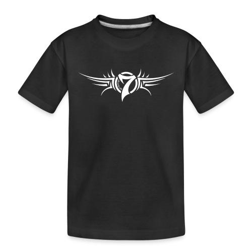 MayheM-7 Tattoo Logo White - Toddler Premium Organic T-Shirt