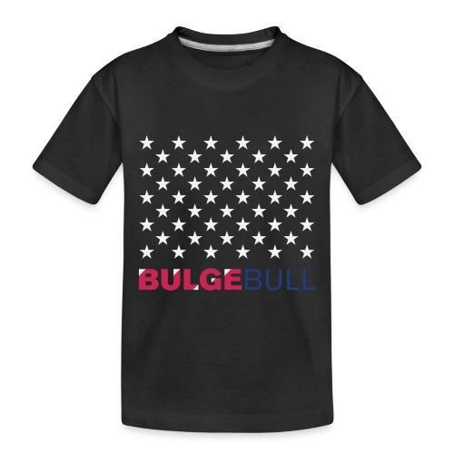 BULGEBULL JULY 4TH - Toddler Premium Organic T-Shirt