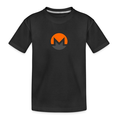 Monero crypto currency - Toddler Premium Organic T-Shirt