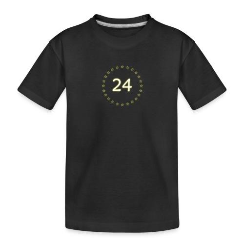 24 stars - Toddler Premium Organic T-Shirt