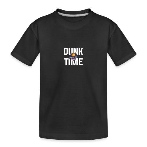 DUNKTIME Simple Logo - Toddler Premium Organic T-Shirt