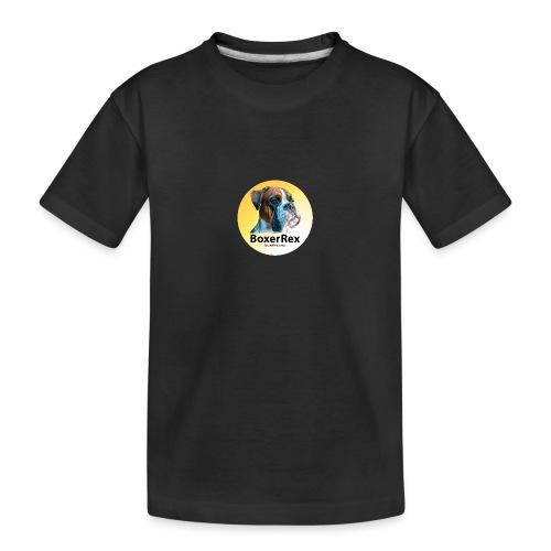 Boxer Rex logo - Toddler Premium Organic T-Shirt