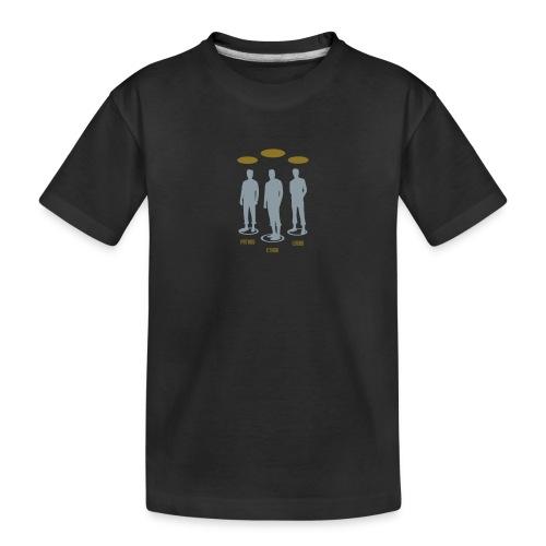Pathos Ethos Logos 1of2 - Toddler Premium Organic T-Shirt