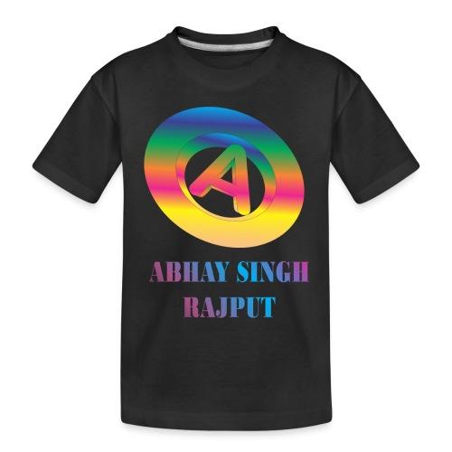 abhay - Toddler Premium Organic T-Shirt