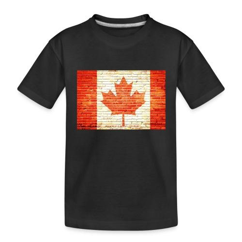 Canada flag - Toddler Premium Organic T-Shirt