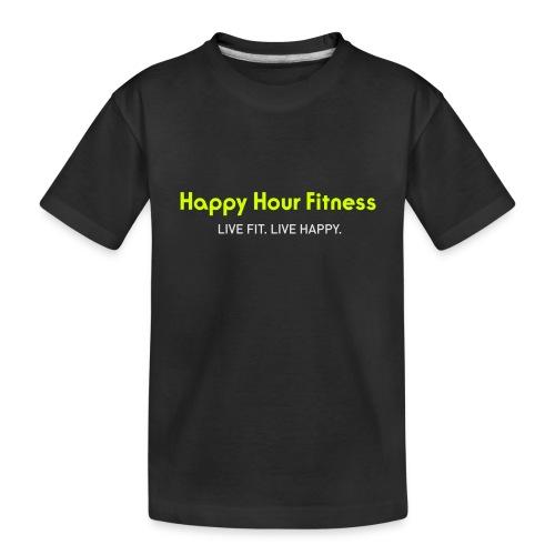 HHF_logotypeandtag - Toddler Premium Organic T-Shirt
