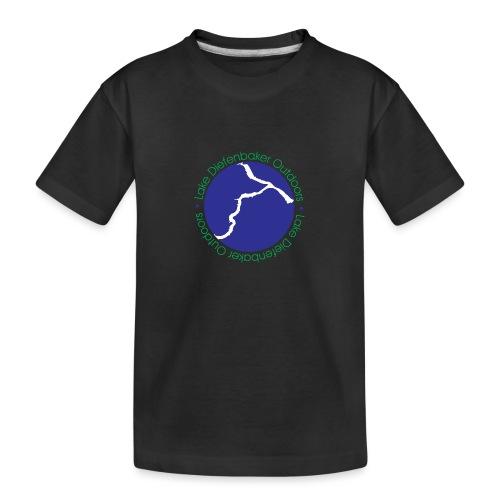 LAKE DIEFENBAKER OUTDOORS - Toddler Premium Organic T-Shirt