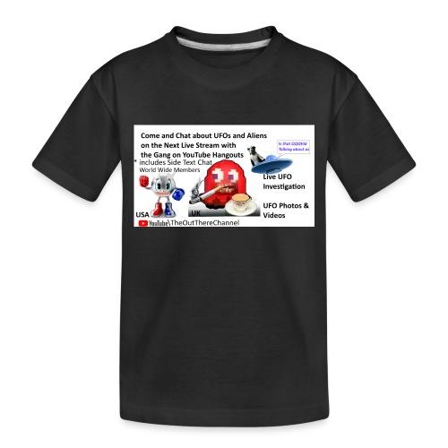 OT Live Stream Tshirt with Crew Back Logo - Toddler Premium Organic T-Shirt