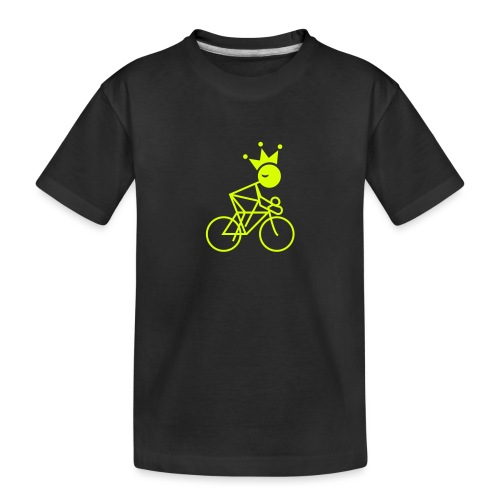 Winky Cycling King - Toddler Premium Organic T-Shirt